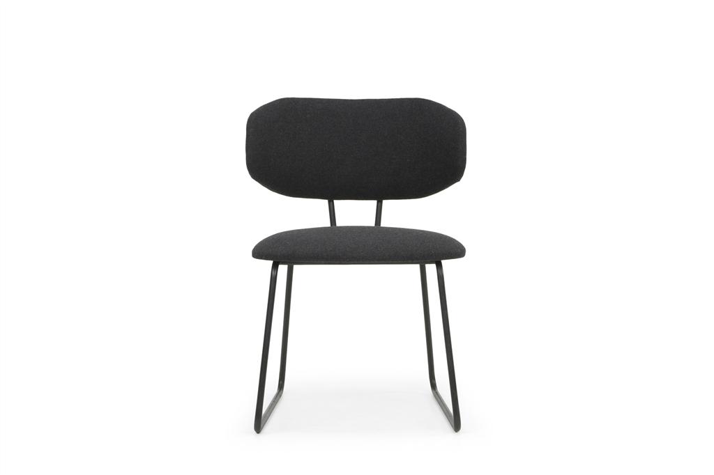 arc-1011-dining-chair-andorra-583-antrazite-matt-black-steel-frame-legs-front