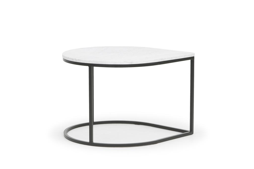 arc-1012-coffee-table-matt-black-steel-legs-white-marbel-table-top-front