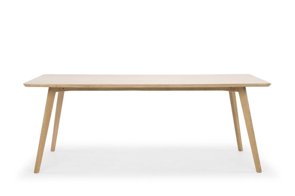 arc-1017-dining-table-200x100x75cm-natural-oak-legs-metal-hinge-front