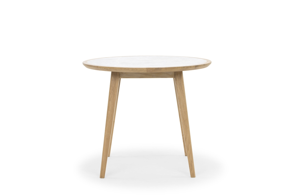 arc-1021-round-table-natural-oak-legs-marble-table-top-front