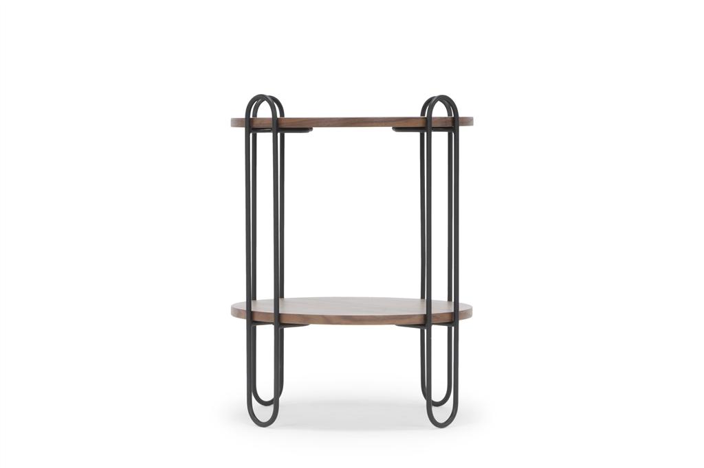 arc-1027-side-table-45x45x60cm-matt-black-steel-legs-two-top-walnut-side