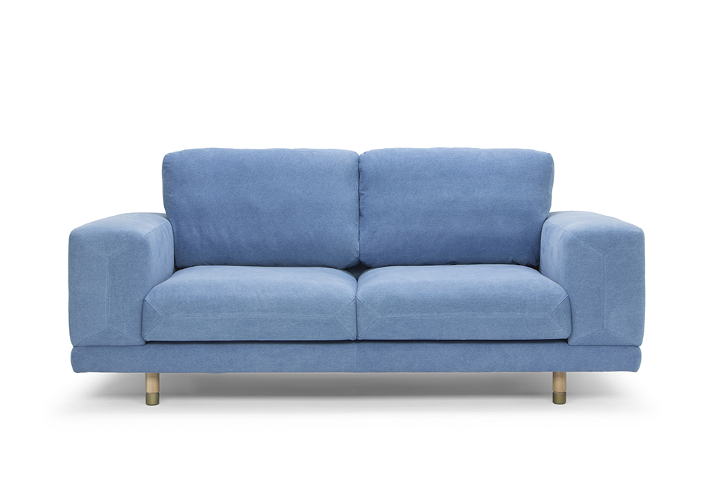 arc-1305-2s-jean-denim-natural-oak-legs-adjustable-brass-feet-front