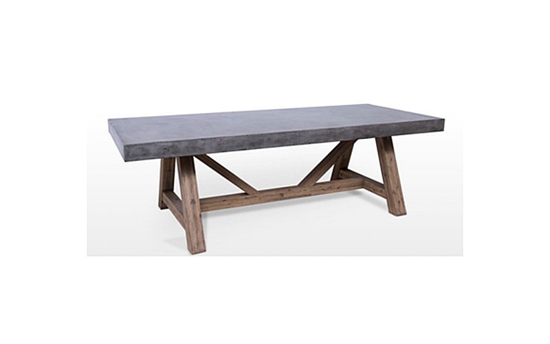 lightweight concrete tables