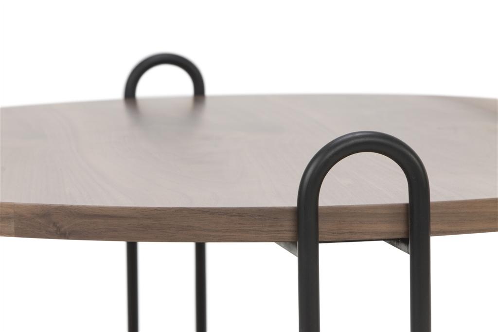 arc-n1028-coffee-table-matt-black-steel-legs-size-90cm-two-natural-walnut-table-tops-close-up-1