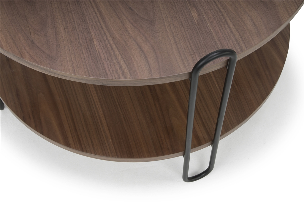 arc-n1028-coffee-table-matt-black-steel-legs-size-90cm-two-natural-walnut-table-tops-close-up-2