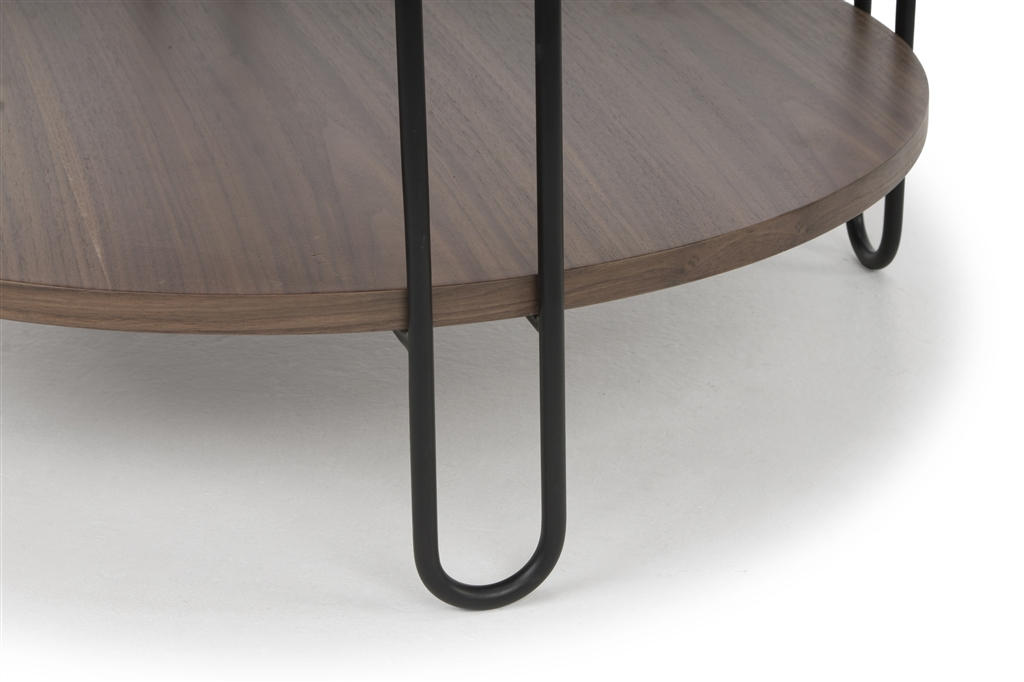 arc-n1028-coffee-table-matt-black-steel-legs-size-90cm-two-natural-walnut-table-tops-close-up