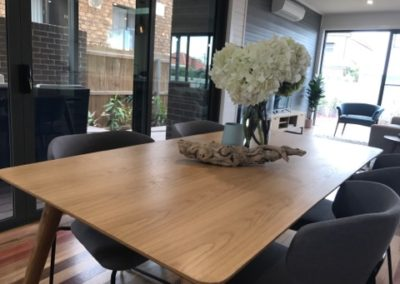 Property styling by Fierce Styling using ARC Commercial Furniture