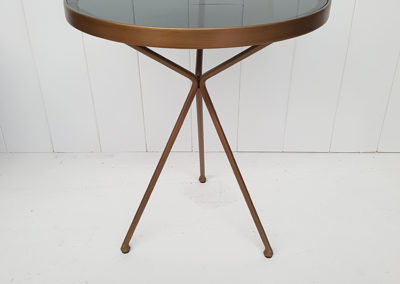custom side table for hotel fitout